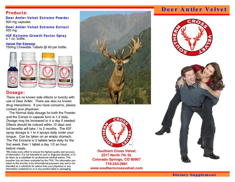 best deer antler velvet spray