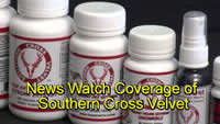 News Watch Deer Antler Spray & Southern Cross Velvet